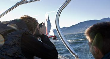 XCAT Fotoshooting am Traunsee